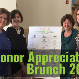 Donors Thanked At Brunch